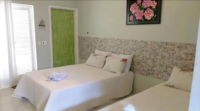 Pousada Sorocotuba - Guarujá - Bedroom