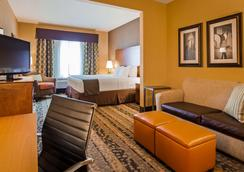 Best Western Plus Tupelo Inn & Suites - Tupelo - Phòng ngủ