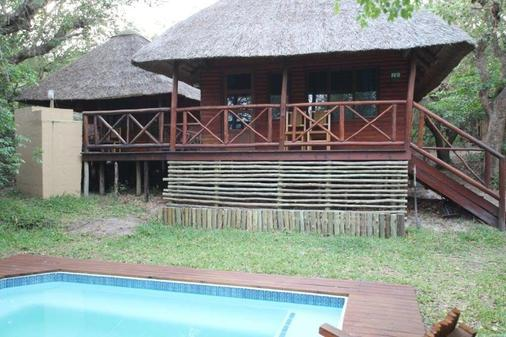 Kosi Bay Lodge - Manguzi - Gebäude