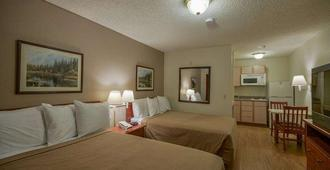 Intown Suites Extended Stay Houston - Greenpoint - Houston - Bedroom