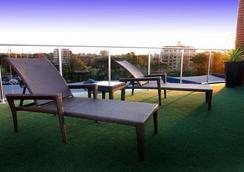曼特拉碼頭酒店 - 馬克夸立港 - 麥覺里港 - 陽台