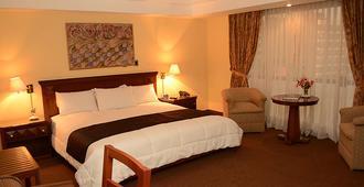 Maria Angola Hotel & Centro de Convenciones - Lima - Bedroom