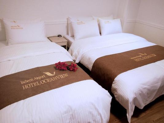 Incheon Airport Oceanview Hotel - Incheon - Bedroom