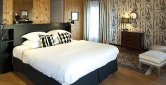 Hôtel Lecoq Gadby, The Originals Relais - רן - חדר שינה