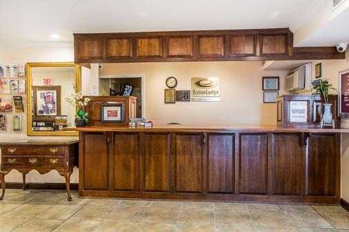 Econo Lodge Milldale - Southington - Milldale - Front desk