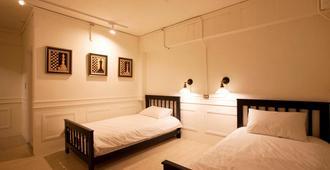 Mr Lobster's Secret Den Design Hostel - טאיפיי - חדר שינה