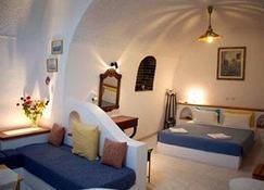 Vallas Apartments & Villas - Thera - Bedroom