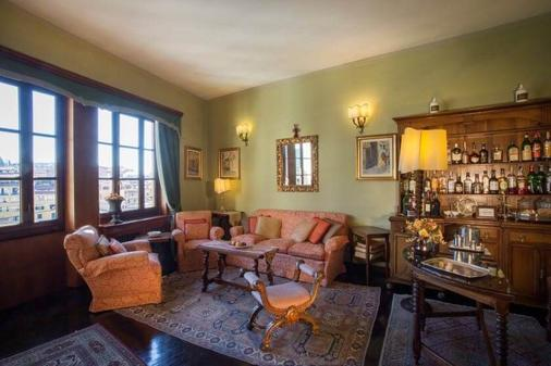Hotel Hermitage - Florence - Living room