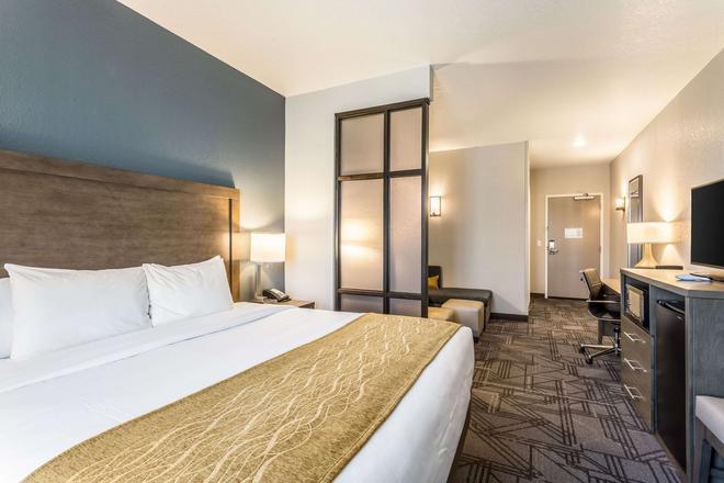Comfort Inn and Suites Salt Lake City Airport - Salt Lake City - Bedroom