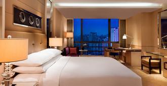 Guangzhou Marriott Hotel Tianhe - גואנגג'ואו - חדר שינה
