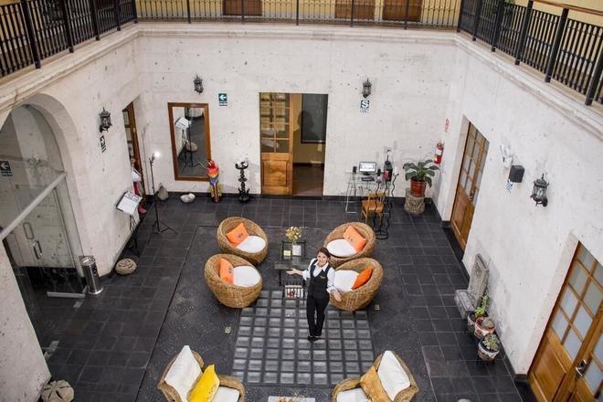 蒂卡里飯店 - 阿雷基帕 - 天井