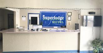 超級汽車旅館 - 埃爾帕索 - 厄爾巴索 - 櫃檯