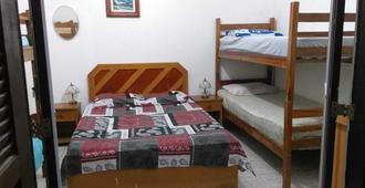 Hostel Praia Martin de Sá - Caraguatatuba - Bedroom