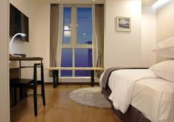 Ocloud Hotel Gangnam - Seoul - Bedroom