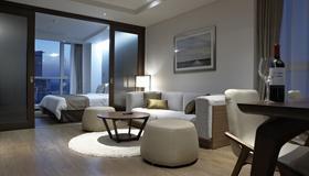 Ocloud Hotel Gangnam - Seúl - Sala de estar