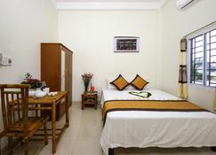 哈麥海灘家庭旅館及平房飯店 - Hà Bàng - 臥室