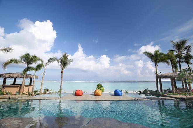 關島都喜天麗度假酒店 - 塔穆寧 - 游泳池