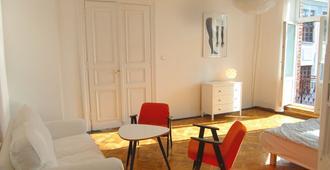 Hostel Fabryka - Varsovia - Sala de estar