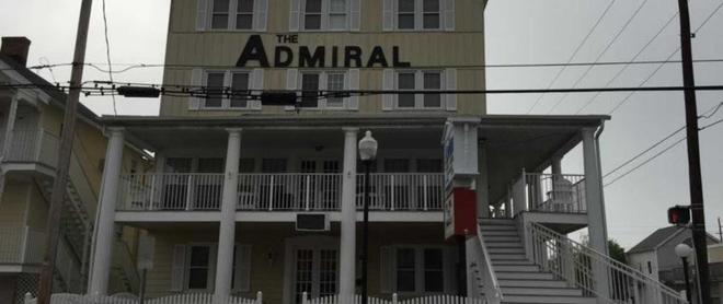 The Admiral Hotel Motel - Ocean City - Building