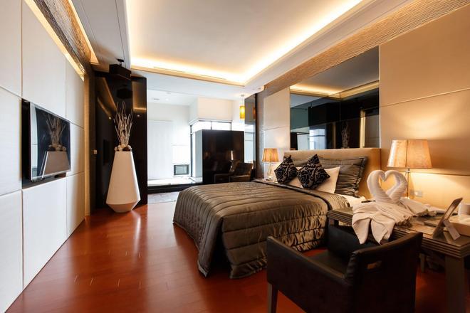 Lee Don Motel - Kaohsiung - Bedroom
