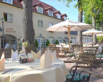 Hotel Landhaus Wörlitzer Hof - Woerlitz - Патіо