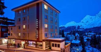 Sorell Hotel Asora - Arosa - Gebouw