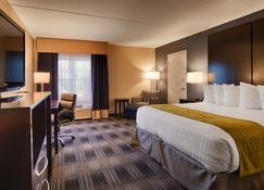 Best Western Hartford Hotel & Suites - הארטפורד - חדר שינה