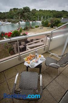 Best Western Plus Le Roof - Vannes - Balcony