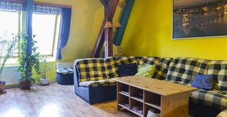 7x24 Central Hostel - Budapest - Living room