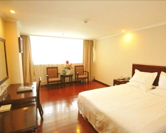 Greentree Inn Shantou Haibin Road Chousha Building - Shantou - Bedroom
