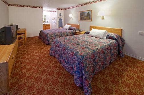 美洲最佳價值酒店 - 韋瑟福德 - 威德福 - 韋瑟福德 - 臥室