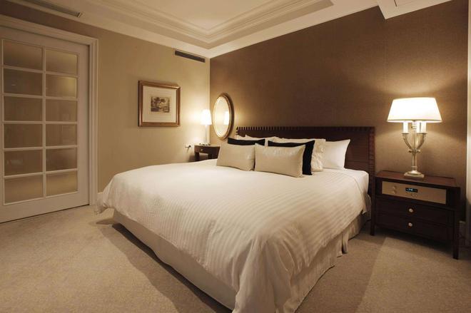 橫濱新格蘭飯店 - 橫濱 - 臥室