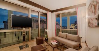 إن إتش كوليكشن ميلانو بريزيدنت - ميلان - غرفة معيشة