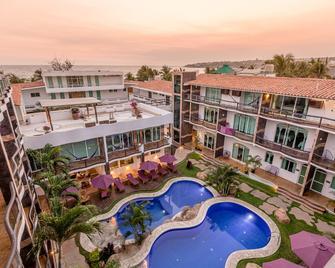 Hotel Rockaway - Puerto Escondido - Gebouw