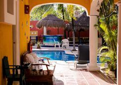 El Acuario Hotel - Playa del Carmen - Pool