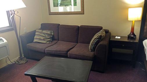 Americas Best Value Inn Webster City - Webster City - Wohnzimmer