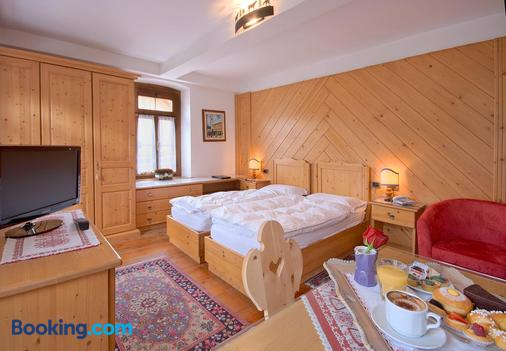 Hotel Villa Alpina - Cortina d'Ampezzo - Bedroom