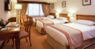 Hotel Plaza San Francisco - סנטיאגו - חדר שינה