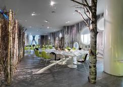 米蘭巴賽羅酒店 - 米蘭 - 米蘭 - 餐廳