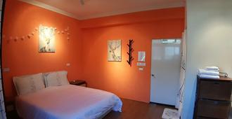 Taoyuan Airport Rory Harbor Hostel - Taoyuan - Bedroom