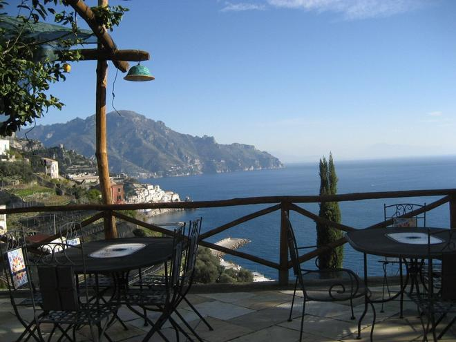 Villa Rina - Amalfi - Parveke