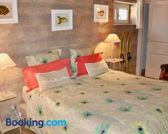 Chambre d'Hôtes La Maisonnette - Saint-Maurice-Étusson - Bedroom