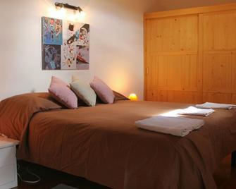 B&B La Borella Casa Conti - Puy-Saint-Vincent - Bedroom