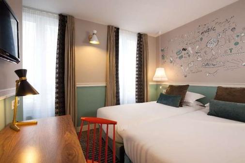 Hôtel Les 3 Poussins - Pariisi - Makuuhuone
