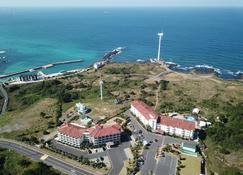 Blue Hawaii Resort - Jeju - Buiten zicht
