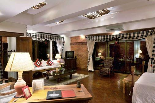 The Dwarika's Hotel - Kathmandu - Living room