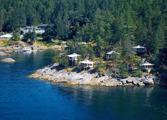 Rockwater Secret Cove Resort - Halfmoon Bay - Vista del exterior