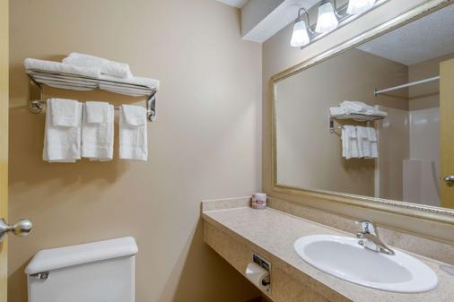 Econo Lodge - Regina - Bathroom