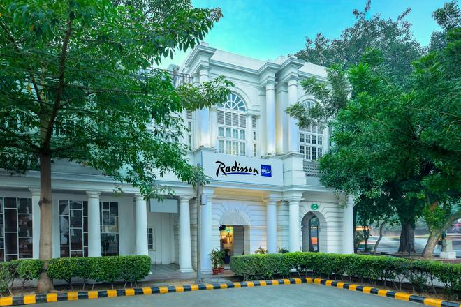 Radisson Blu Marina Hotel Connaught Place - New Delhi - Rakennus