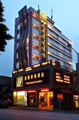 Guangzhou The Royal Garden Hotel - Kanton - Rakennus